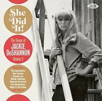 Jackie DeShannon - She Did It! the Songs of Jackie Deshannon 2 [New CD] UK - Imp