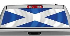 Truck Rear Window Decal Graphic [Flags / Scotland] 20x65in DC88207