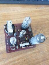 More details for gec vintage television. bt-311 : 1950's. valve board : valves #2 (???)