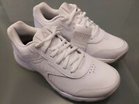 Women's Reebok Trainers Memory Tech LT UK Size 6 White Leather Tried on Only