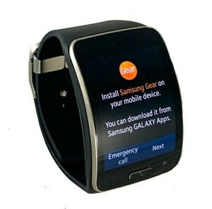 Samsung Galaxy Gear S SM-R750T Black Curved Smart watch