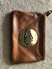 Mulberry Daria Clutch Pouch Bag Blue  Leather