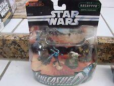 Star Wars figure Battle of Kashyyyk And Felucia Heroes  Battle Packs Unleashed