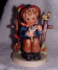 "Hummel Goebel #174 'She Loves Me Not' Porcelain Figurine Tmk 3Ls 4 1/4"" '1960'"