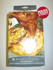 Dungeons And Dragons Against the Giants Sealed Booster Case 6 Booster Packs