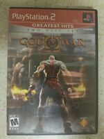 God of War II GHE (Sony PlayStation 2, 2007) PS2 COMPLETE Tested FREE S/H