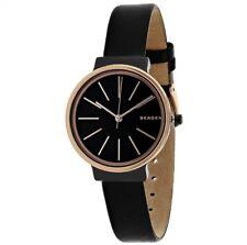 SKAGEN SKW2480 ANCHER Armbanduhr - Leder / Rose/Schwarz Neu in OVP / UVP 169,-€