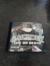 "Vintage 1998 No Limit Records CD C- Murder ""Life Or Death"" Rare Original OOP Htf"