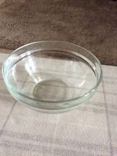 VINTAGE RETRO ONE AND HALF PINT SIZE CLEAR MIXING/PUDDING BOWL