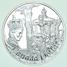 More details for canada, elizabeth ii silver proof dollar, golden jubilee, 2002 coin in capsule