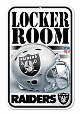Oakland Raiders Locker Room Sign Wall Tag Man Cave 11x17 FAST US SHIPPING