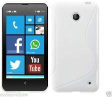 Custodie preformate/Copertine bianco Per Nokia Lumia 630 per cellulari e palmari