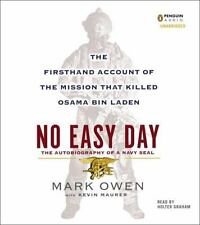 No Easy Day CD Firsthand Account Mission That Killed Osama Bin Laden audiobook