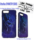 OtterBox Symmetry Father & Son Case for iPhone 8/7 & 7Plus/8Plus Black Panther