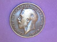 Great Britain - Penny - 1919 - KM# 810