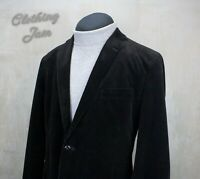 Men's Brooks Brothers Fitzgerald Corduroy Jacket Dark Brown Size USA 46 R
