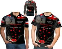 Poppy Remembrance day British Army Afganistan T .Shirt new product