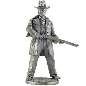 Sheriff (Wild West). Tin toy soldier 54mm. metal sculpture