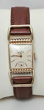 LORD ELGIN Vintage 1940sDeluxe Gold Filled Hinged Lug Manual Wind Driver's Watch