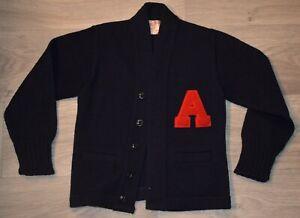 "Champion Knitwear Toddler / Baby Cardigan Varsity Sweater Vintage USA ""A"""