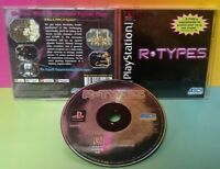 R-types  - Playstation 1 2 PS1 PS2 Game Complete Tested Works Rare Shooter shmup