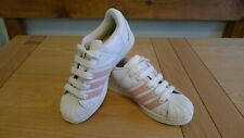 Adidas Super Modified White/Pink Women's Trainers 673559  size UK 6