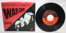 CROSBY, STILLS & NASH WAR GAMES & SHADOW CAPTAIN 45 VINYL 7-89812