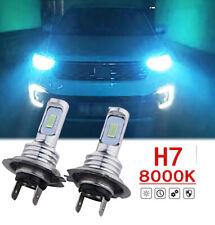 2x H7 Ice Blue 70W Bright LED Low Beam Upgrade kit for VW Passat 12-19 8000K