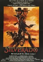 Silverado Kevin Kline Scott Glenn Kevin Costner 1985 Danish Movie Press Release