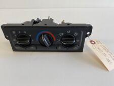 1999 Chevrolet Malibu Climate Control AC Heat Panel Assembly