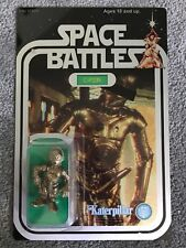 1977 Topps Star Wars Obscene Error X-Rated C-3PO #207 Toy Action Figure