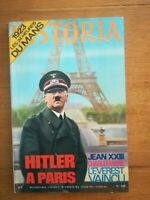 HISTORIA MAGAZINE N°319 1973 - HITLER A PARIS - 24H DU MANS