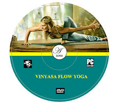 Learn Vinyasa Flow Yoga DVD Excercise For Cardio Flexibility Weight Loss