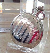 hunter case new old stock Colibri silver Pocket striped silver