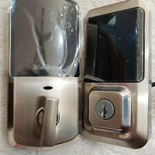 Kwikset Halo Touchscreen Wi-Fi Enabled Smart Lock - Satin Nickel 99390-001 READ!