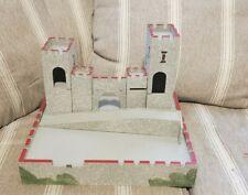 britains toy castle wood 7 pieces