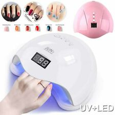 36W/48WLED Nail Polish Dryer Lamp Gel Acrylic Curing Light Spa Manicure Timer
