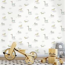 PROMENADE CHIEN CHIEN SAUCISSE Papier peint gris - Holden décor 12551 chiot