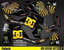 Kit Déco Quad pour / Atv Decal Kit for Polaris Outlaw - DC Black