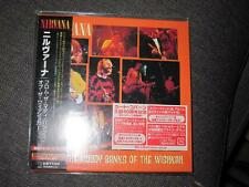 NIRVANA From the Muddy Banks of the Wishkah JAPAN MINI LP CD SEALED