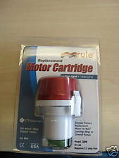 Rule 25DR aerator pump motor cartridge 500 GPH boat