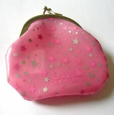 Porte monnaie plastique rose étoilé LULU CASTAGNETTE