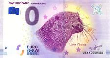 68 HUNAWIHR Naturoparc, N° de la 6ème liasse, 2018, Billet 0 € Souvenir