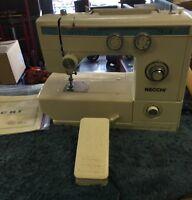 Necchi Sewing Machine 535 FA - Heavy Duty Manual Pedal For Parts