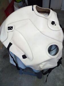 Copriserbatoio usato bianco per BMW r1100gs