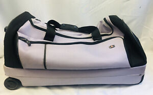 VICTORINOX Lilac Two Wheels Carry On Suitcase, Quite Used