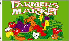 Farmers Market Flag 3' X 5' Indoor Outdoor Multi-Color Banner