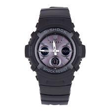 Casio G-Shock AWGM100B-1A Men's Chronograph Solar Digital Analog Black Watch