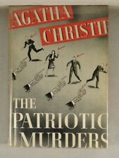 THE PATRIOTIC MURDERS by Agatha Christie 1941 Grosset & Dunlap Vintage Mystery