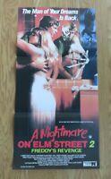 A NIGHTMARE ON ELM STREET 2 ORIGINAL 1985 CINEMA DAYBILL POSTER Robert Englund